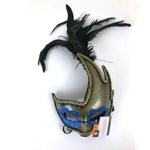 Halloween Masquerade Fancy Peacock Mask Adult